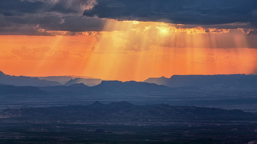 Stormy Afternoon At Big Bend by Harriet Feagin