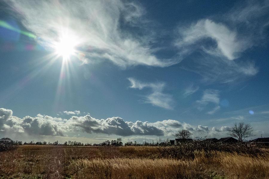 Stormy Cloudscape Photograph