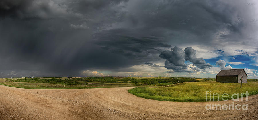 Canada Photograph - Stormy Junction by Ian McGregor