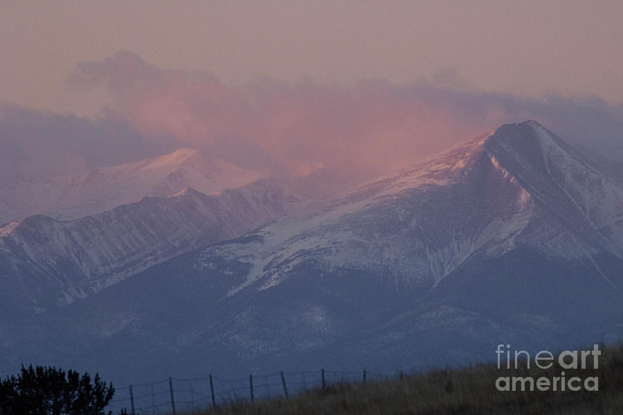 Stormy Sangre Sunrise Photograph