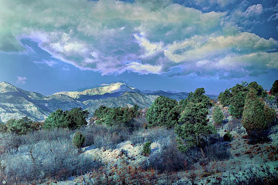 Garden Of The Gods Digital Art - Stormy_Monday_20210315 by Joseph Liberti