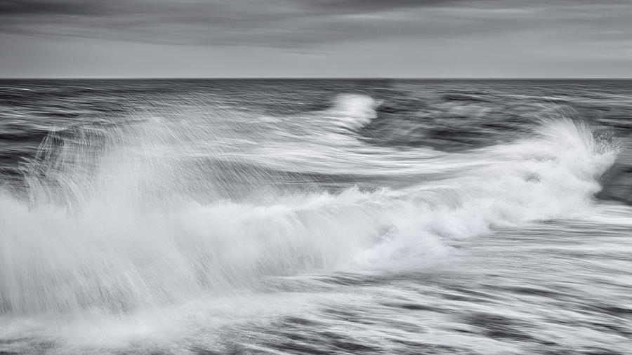 Storm Photograph - Stotm in Truro Black and White Photograph by Dapixara Art