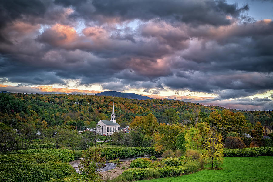Stowe at Dusk by Rick Berk