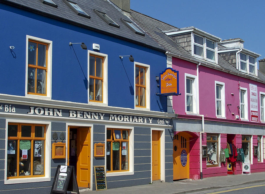 Irish Photograph - Strand Street in Dingle Ireland by Teresa Mucha