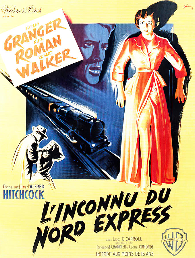 strangers On A Train, 1951 Mixed Media