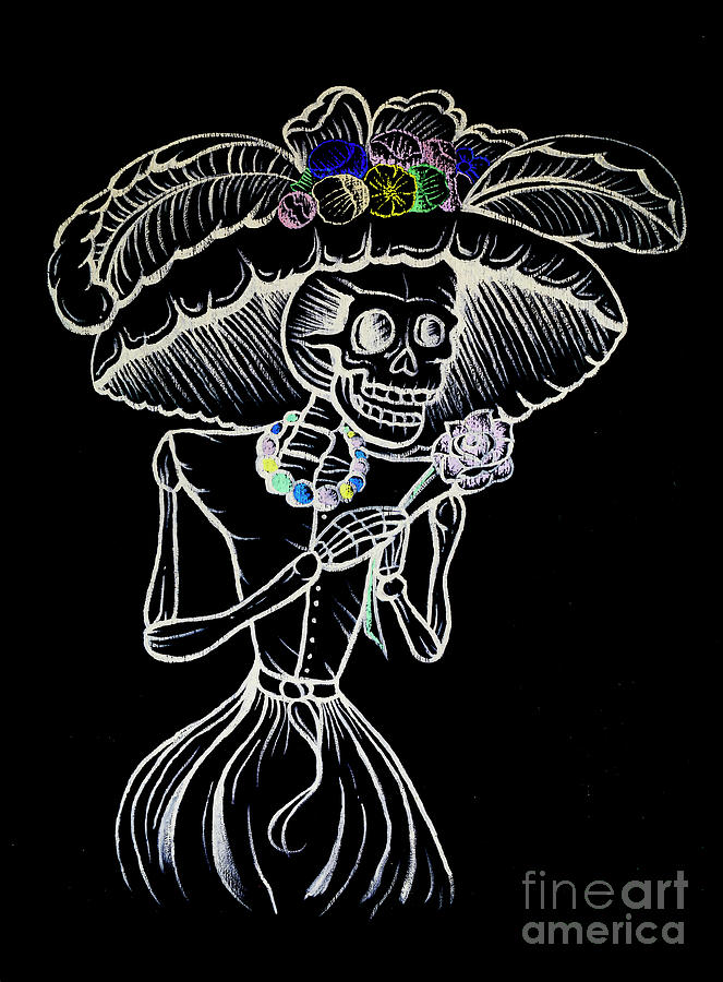 Skeleton Photograph - Street Art 15 by Ben Yassa