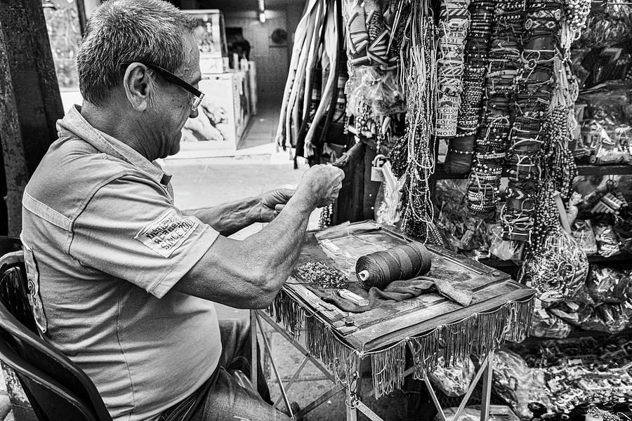 Street Artisan Cali Valle del Cauca Colombia by Adam Rainoff