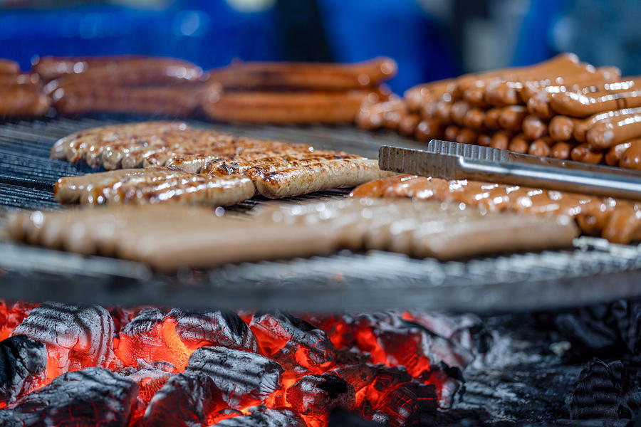 Street Food, Roasted, Grilled Photograph by Mauro Tandoi