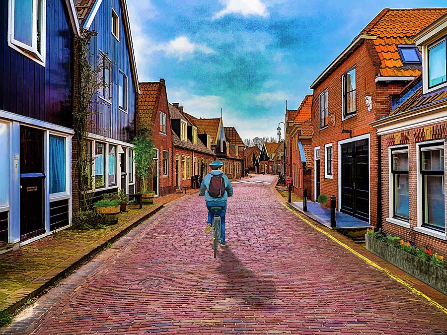 Streets of Monnickendam by Paul Wear