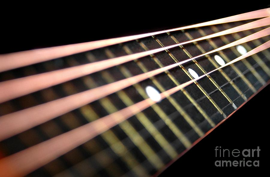 Abstract Photograph - String Abstract by Dan Holm