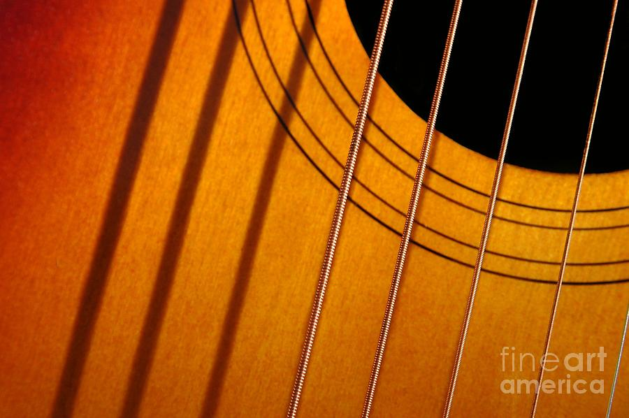 Music Photograph - String Composition by Dan Holm