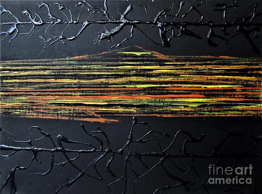 String Theory #1 Painting