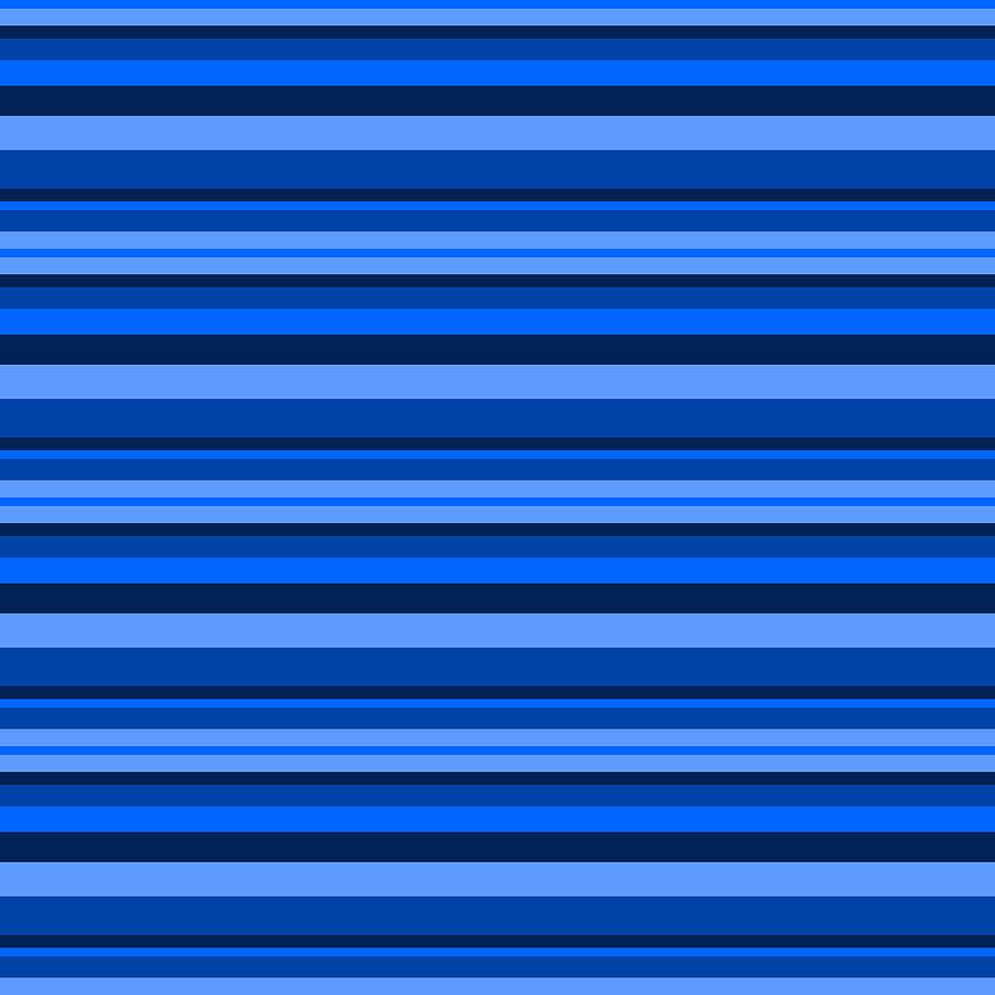 Stripe Blue by Max Coffey