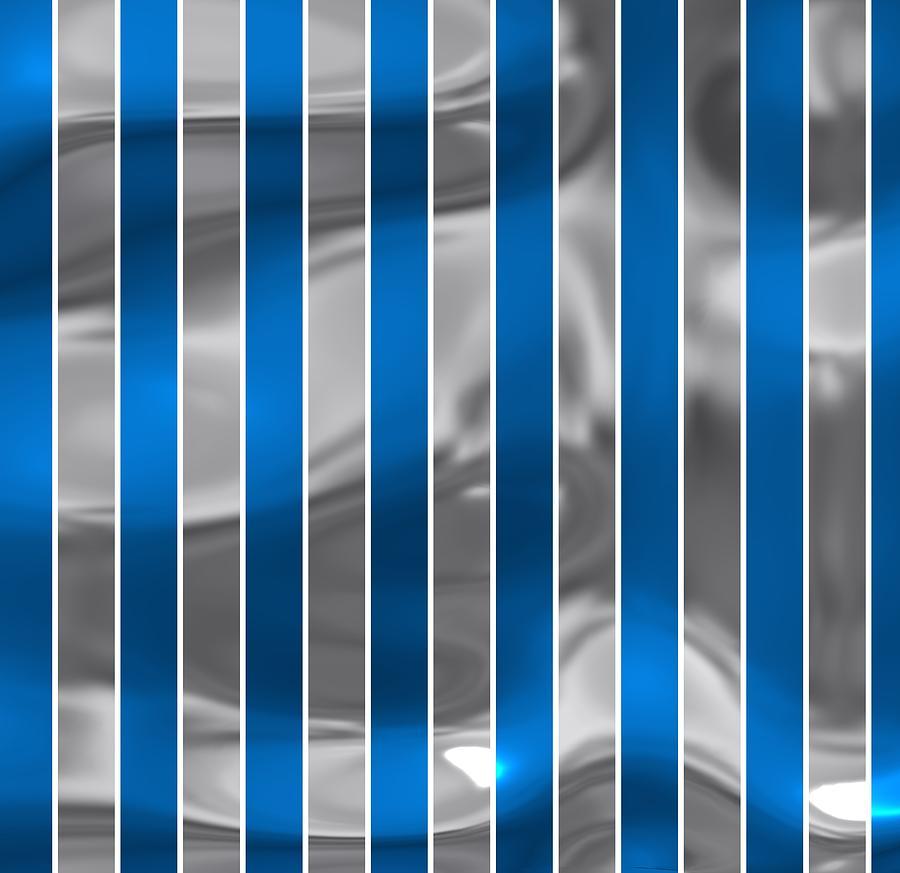 Stripes Of Sport Detroit Digital Art