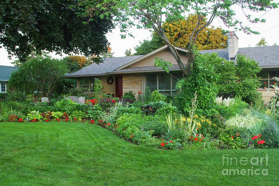 Garden Photograph - Stroll By by Marilyn Cornwell