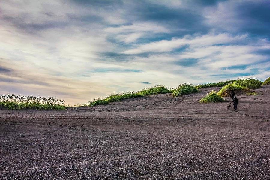 Stroll Through Vast Sand Dunes Photograph