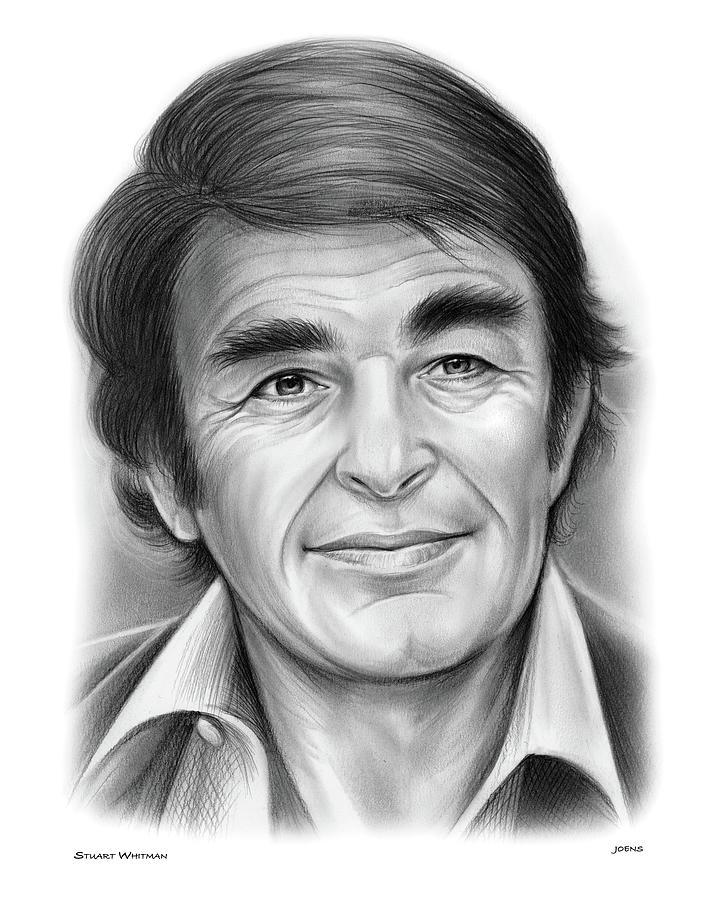 Stuart Whitman Drawing