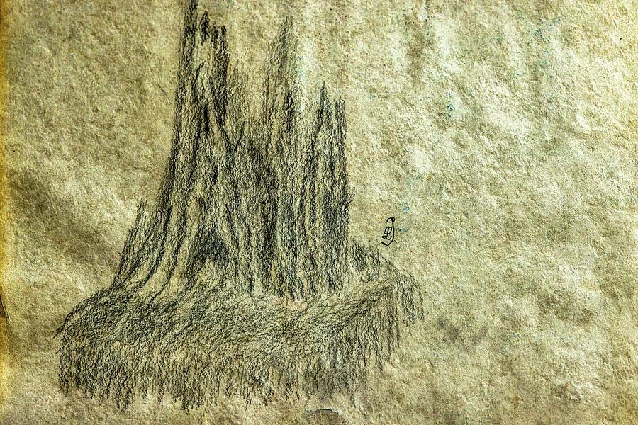 Stub On Waterfall #k9 Drawing