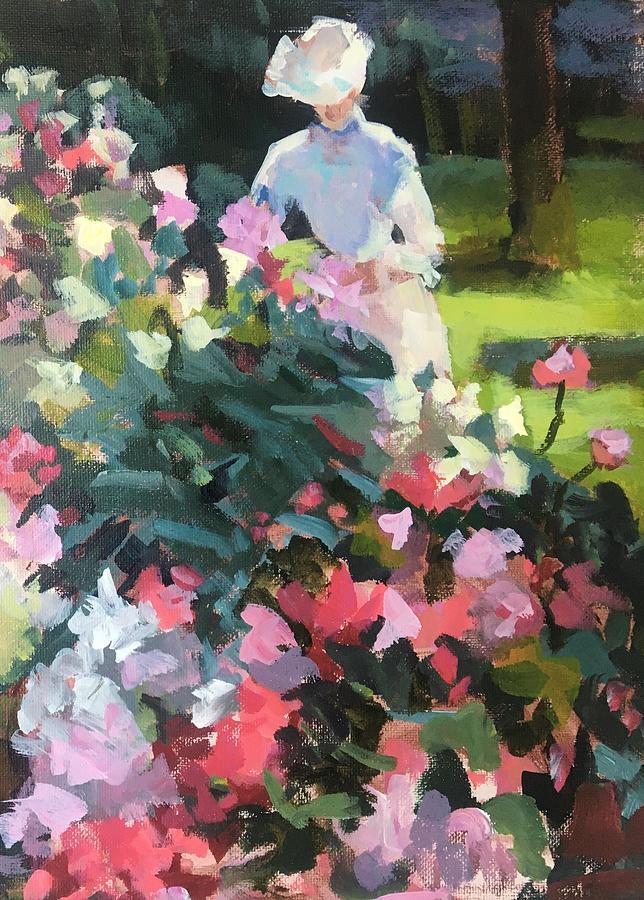 Study Of Peonies I Painting