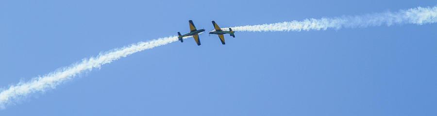 Stunt Planes Photograph