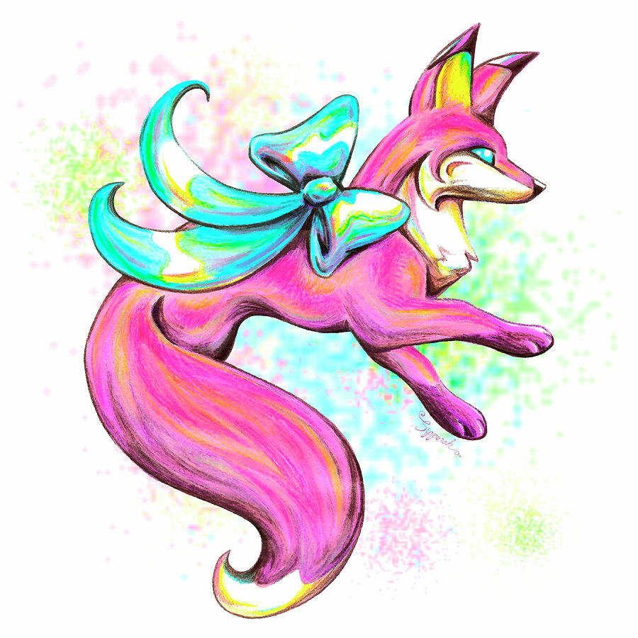 Stylized Fox IV by Sipporah Art and Illustration