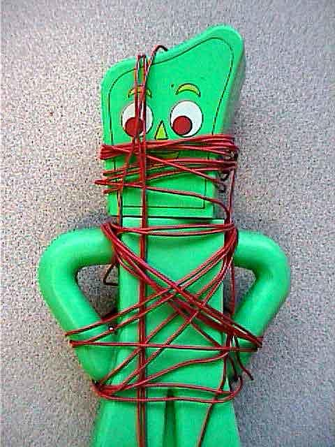 Dark Mixed Media - Sub Gumby by Billy Knows