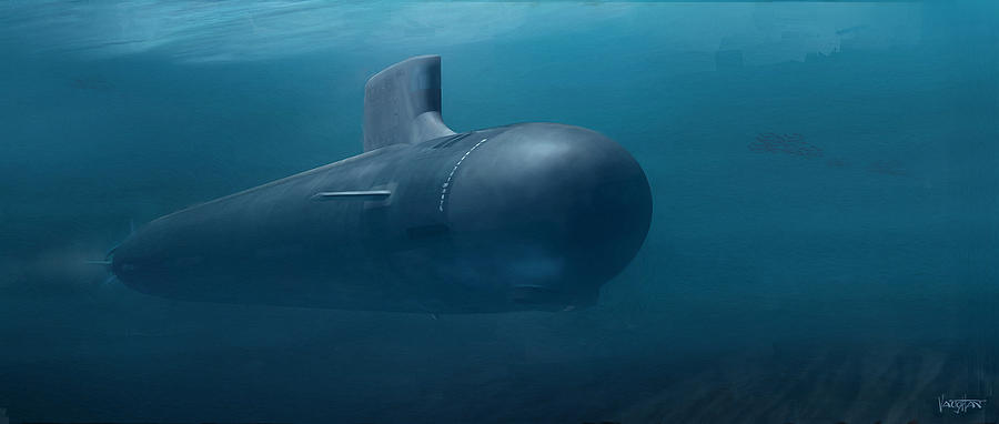 Sub - Virginia class - here there be monsters ...  by James Vaughan