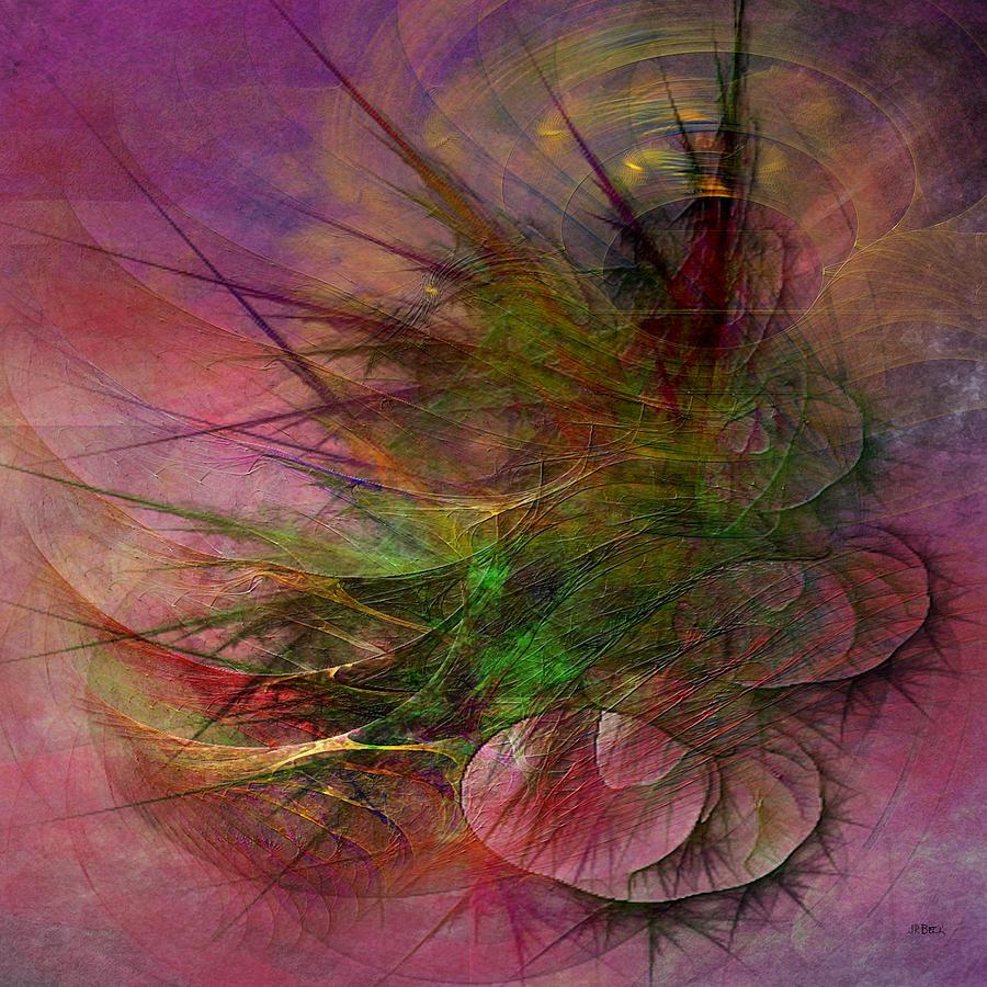 Echoes Digital Art - Subtle Echoes - Square Version by John Robert Beck