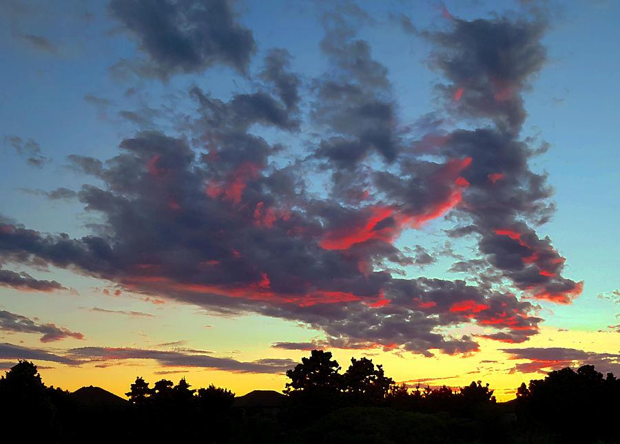 Suburban Sky Photograph
