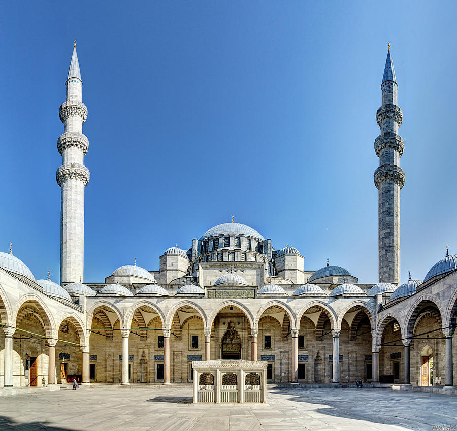 Suleiman Mosque 11 Istanbul by Weston Westmoreland