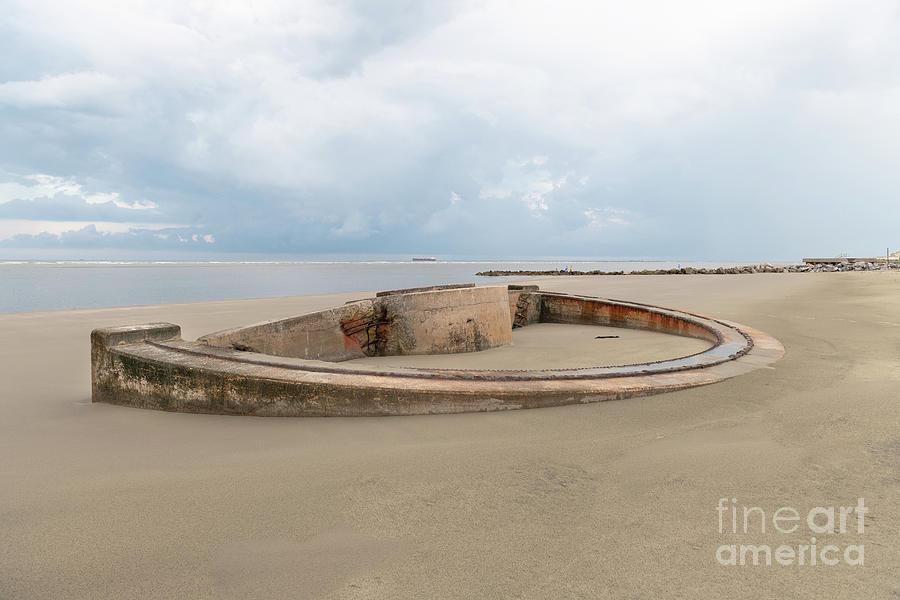 Sullivans Island Coastal Defense - Panama Mount Photograph