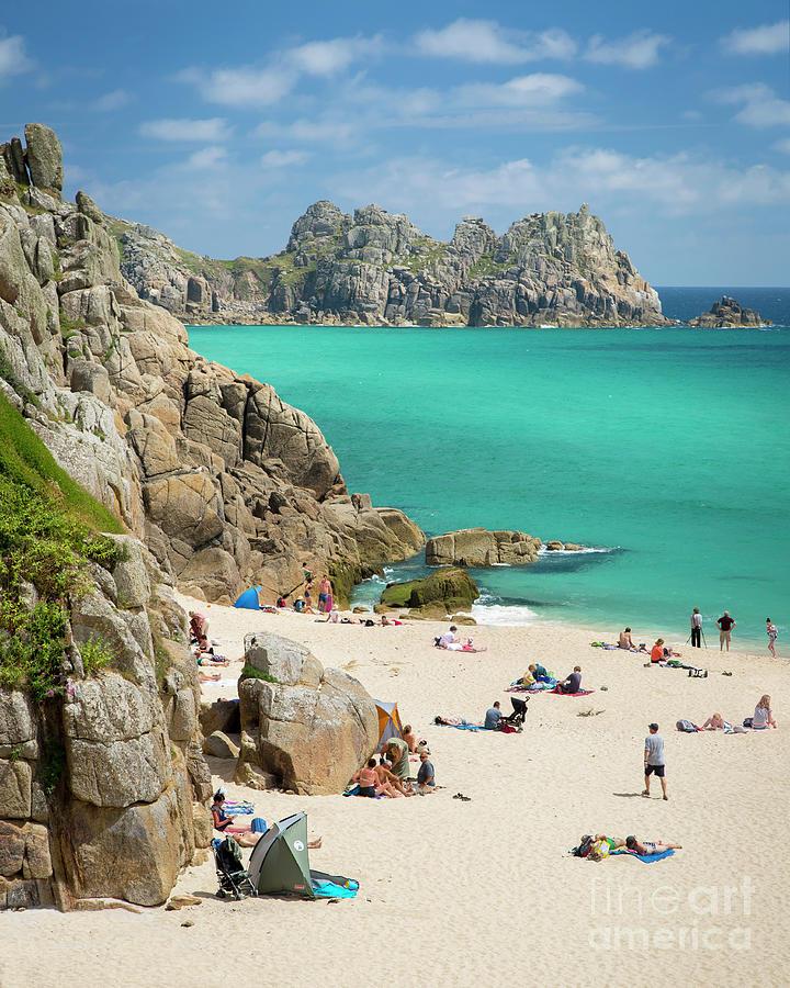 Summer Day At The Beach - Cornwall England Photograph