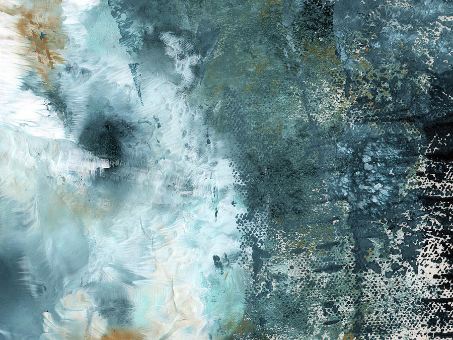 Abstract Painting - Summer Storm- Abstract Art by Linda Woods by Linda Woods
