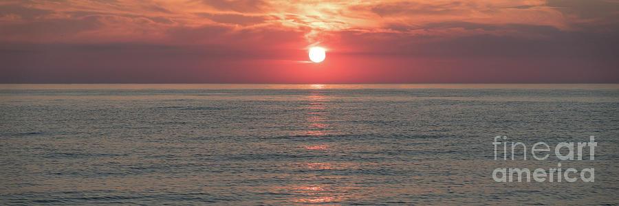 Summer Sundown - wide by Ann Horn