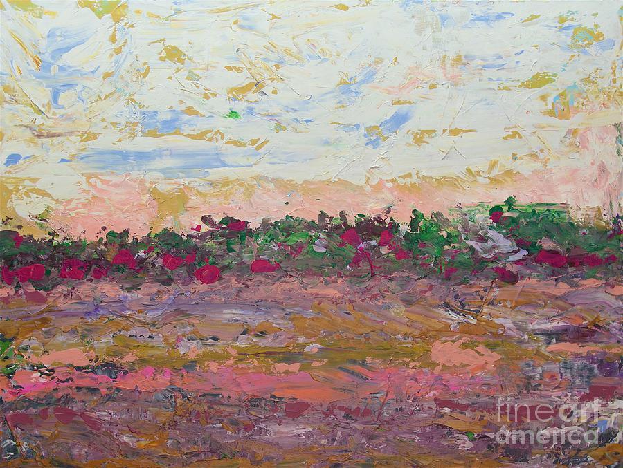 Summer Sunset Painting