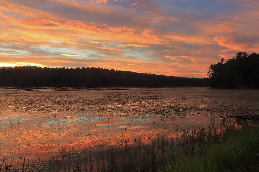 Summer Sunset At Pottapaug Pond Photograph