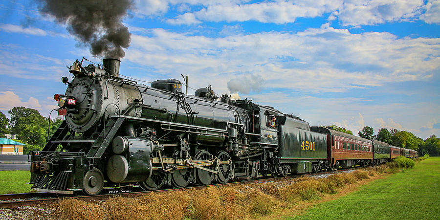 Summerville Steam Special by Dale R Carlson