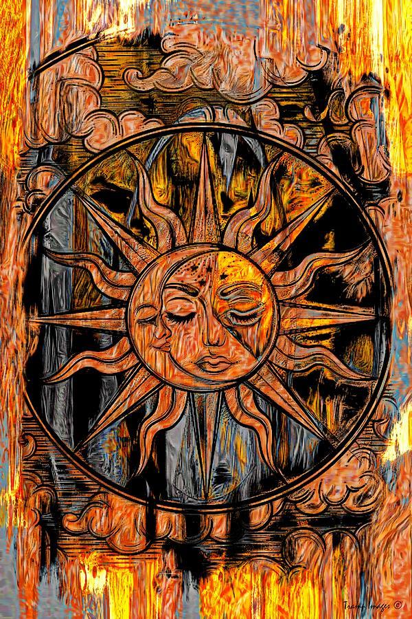Sun and Moon by Wesley Nesbitt