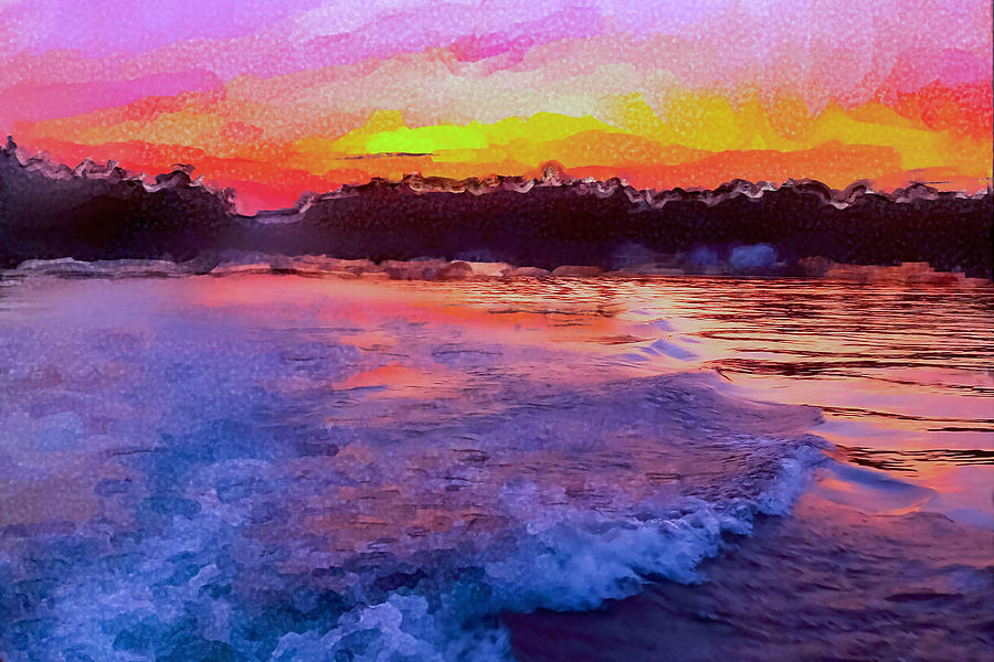 Colors of Lake Kezar Photograph by Ali Bailey