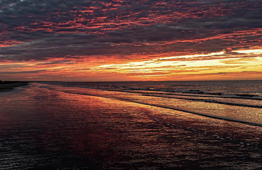 Sun Rise Sea Rim State Park Photograph