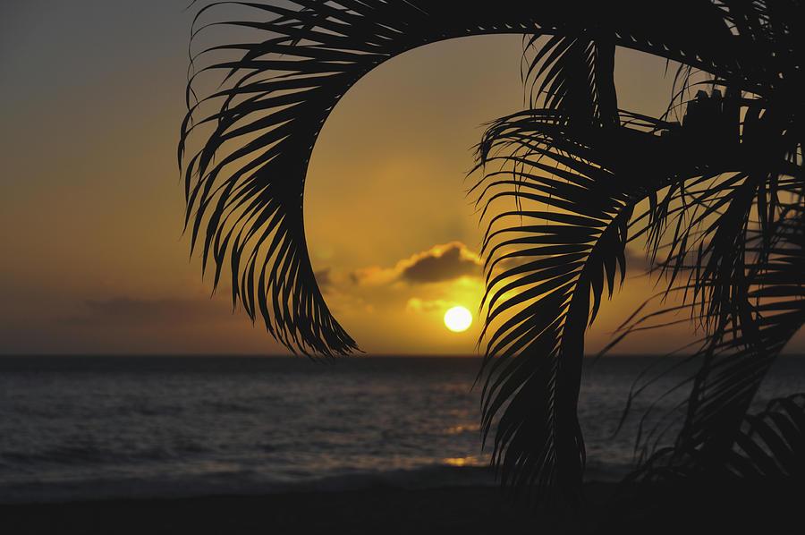 Sun Setting On Kaanapali Photograph
