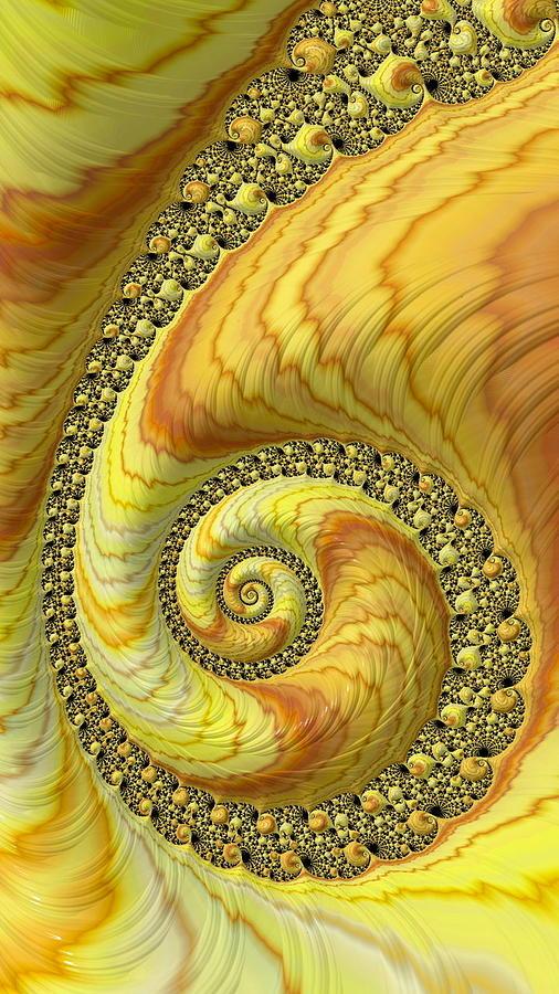 Sun Spiral Digital Art