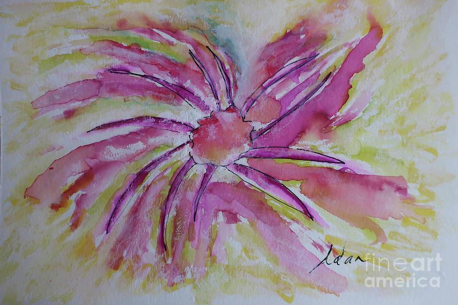 Sun Spot Flower Painting