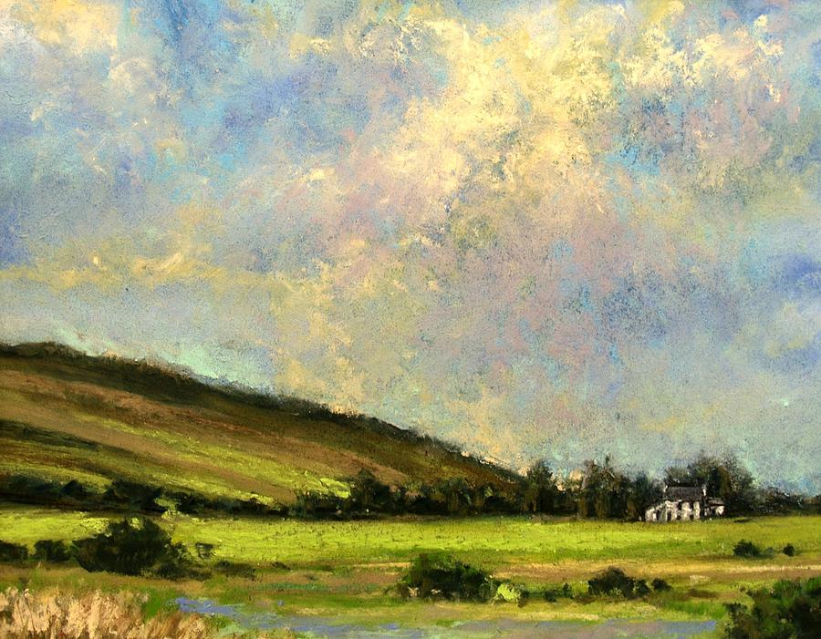 Ireland Painting - Sun Streak Ireland by Jim Gola