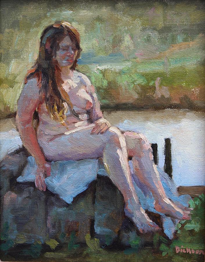 sunbather by Jeff Dickson