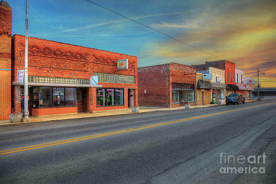 Urban Photograph - Sunday Afternoon by Larry Braun