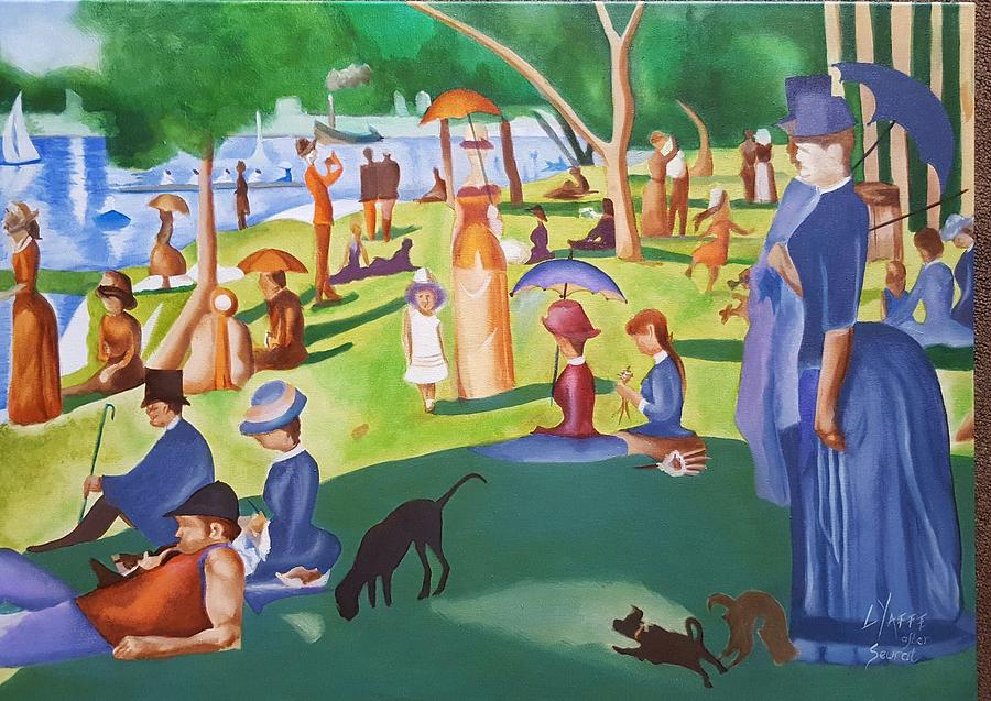 Sunday Afternoon On The Island Of La Grande Jatte Painting By Loraine Yaffe