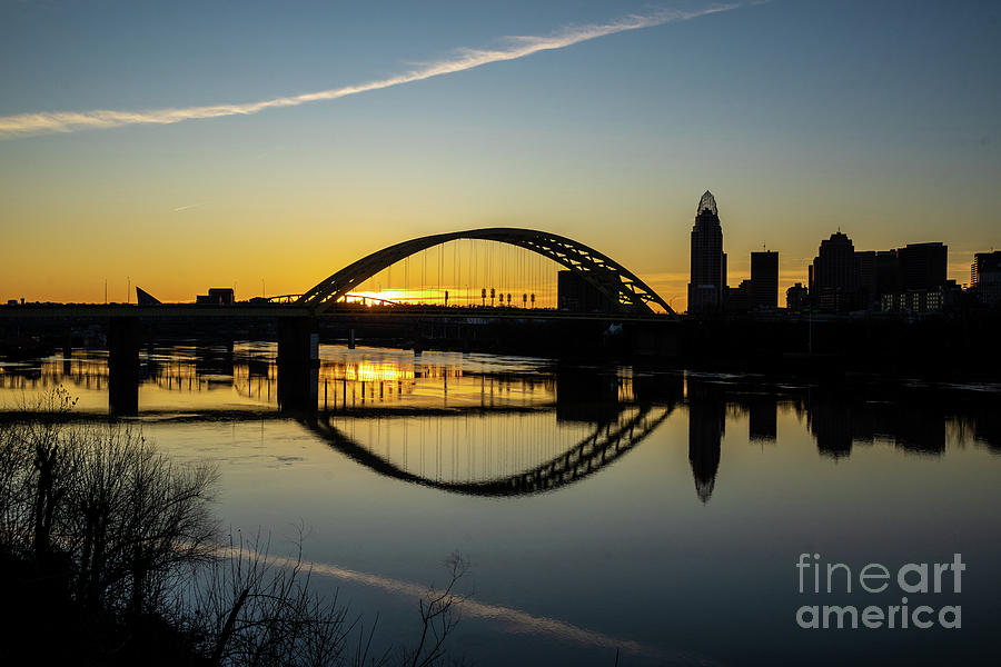Sundown in the City by Cathy Donohoue