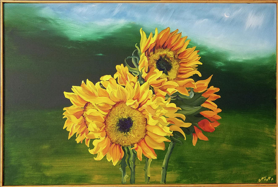 Sunflowers For Tati by Brittany Bert Selfe