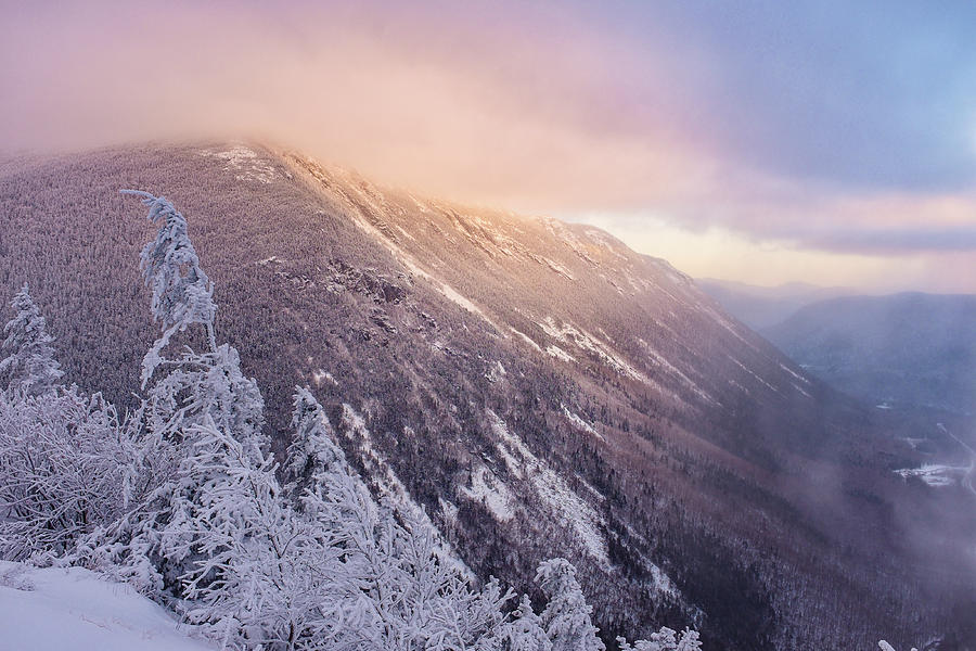 Sunlight Through The Clouds, Crawford Notch.  by Jeff Sinon